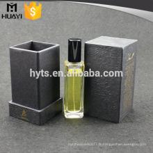 boîtes de parfum vides de papier de luxe sur mesure de haute qualité