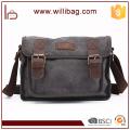 Factories Sale High Quality Men Canvas Shoulder Bag