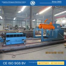 Máquina de desbobinação hidráulica de 10 toneladas com carro de bobina opcional