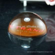 Venda quente exclusivo design de escritório decoração cristal paperweight cúpula