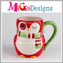 Christmas Promotion Gifts Penguin Ceramic Coffee Mug