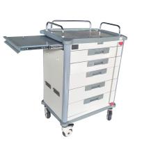 ABS Hospital Medical Mobile Emergency Trolley