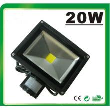 LED 20W PIR LED Floodlight Luz de inundación LED