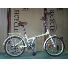 Bicicleta plegable de 20 pulgadas y velocidad variable (FD-024)
