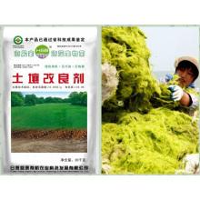 Fertilizante orgânico base de extrato de algas microbianas para condicionador de solo