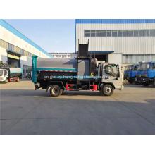 Dongfeng 4x2 camión de basura con volante a la izquierda / derecha