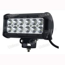 Barra de luz LED Unisun 9-32V à prova d'água 6,5 polegadas 36watt CREE 3W