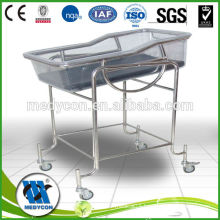 transparent GRP baby hospital bassinet