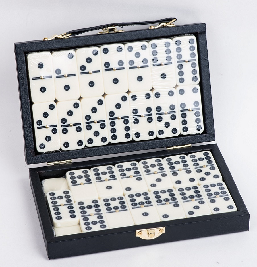 Double 9 Melamime Dominoes Game Set