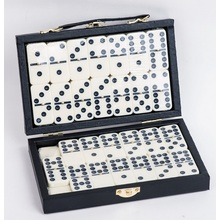 Double 9 Plastic Dominoes Game Set