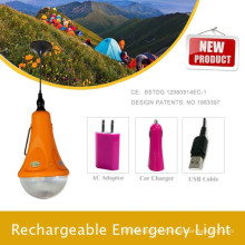 Luces de camping para ir de excursión; Luz de emergencia LED coche portátil; Casa Kit de iluminación de luces solares de la fábrica