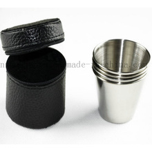 OEM Stainless Steel Outdoor Travel Wine Coffee Cup with Sleeve