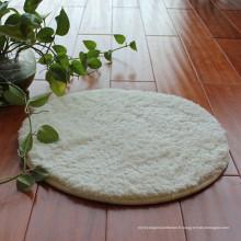 Polyester confortable shaggy tapis pour animaux de compagnie mat