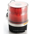 Doble LED Flash ADVERTENCIA luz Faro (HL-212 rojo)