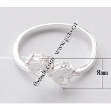 2015 Gets.com 925 sterling silver flashing led finger ring