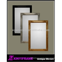 Decorative Large Cheap Antique Wood Framed Wall Mirror