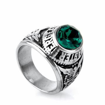 Sergeant leger letter diamanten ring