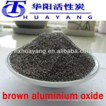 Alta qualidade Al2O3 95% de alumina fundida marrom para rodas de abrasão cermic