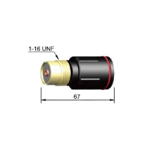 Large Gas Lens for 27 Torch