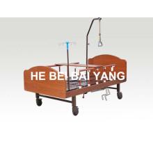 (A-187) Lit de soins infirmiers multifonction à domicile à domicile