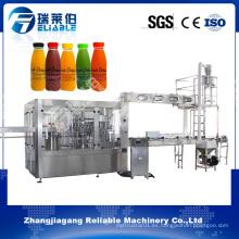 Máquina de llenado en caliente automática personalizada del jugo de naranja