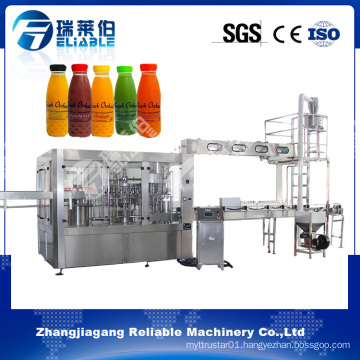 Automatic Bottle Concentrated Fruit Juice Filling Machine