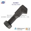 High Tensile Special Fastener J Bolt with Yellow Zinc Plated