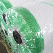 con tira de advertencia bale wrap net roll