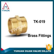 Accesorios de tubería de alta presión Buje de reducción de latón forjado