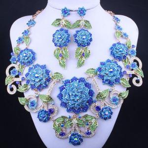 Pueple Crystal Queen Earrings With Purple Diamonds