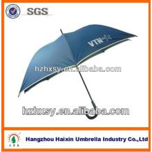 paraguas del golf al viento gran tamaño 68 pulgadas luz paraguas azul