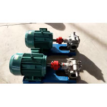 Bomba de engranajes de aceite de lubricante / aceite lubricante de acero inoxidable KCB1200 de alta calidad