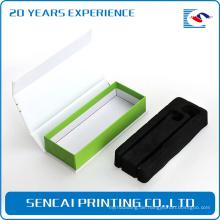 Hochwertiger Karton Flip-Top-Verpackung Boxen mit Magnetverschluss Eva einfügen