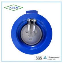 Válvula de retenção Swing de disco único tipo Wafer