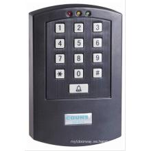 Lector de teclado del sistema de control de acceso