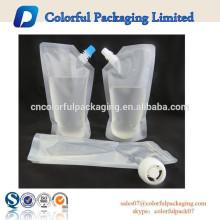 agua potable en una bolsa de plástico, bolsa de agua potable