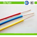 Cable de núcleo único de PVC con conductor de cobre