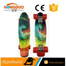 2016 wholesale new print plastic Cruiser skateboard