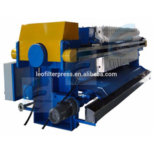 Filtro de membrana, conjunto de máquina de pess de filtro de câmara da China Leo Filter Press, o fabricante de prensa de filtro na China