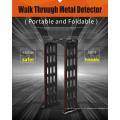 Detector de metales portátil de seguridad de forma M