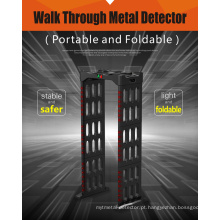 Portablewalk Through Metal Detector