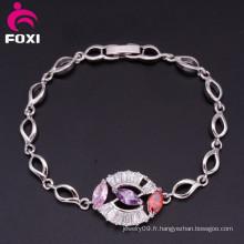 Bracelets magnétiques de la mode en gros de pierres précieuses
