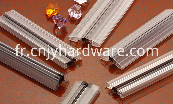 Waterproof PVC shower door bottom PVC seal