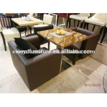 Modernes PU-Leder Cofe Sofa XDW1010