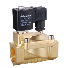 Solenoid Valve -- Slp Brass Series 2/2-Way Pilot Operated Valve