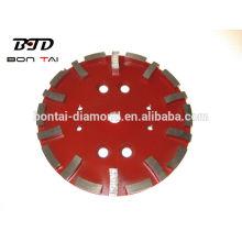 Plaque de meulage de diamant de 250 mm de haute qualité pour béton