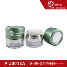 Rotating sifter Loose powder case/loose powder container/Luxury cosmetic packaging with sponge puff
