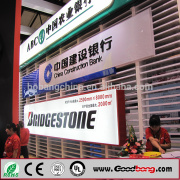 3D LED Illuminated Hanging ABS Advertising Board, Lighting Shop Sign