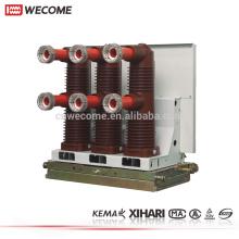KEMA Type testé HV disjoncteur vide 33kV VCB