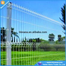 Электрическая гальванизированная сваренная ячеистая сеть загородки / Заводская цена забор панели для продажи